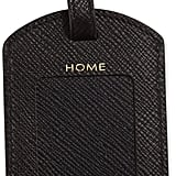 Smythson Panama Luggage Tag, Black ($95)