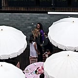 Victoria Beckham Is Showered in Pink From Eva, Ken, Nicole, and Rachel at Her Baby Shower!