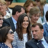 Brooklyn Decker, Pippa Middleton, and Royals Bring Star Power to Wimbledon