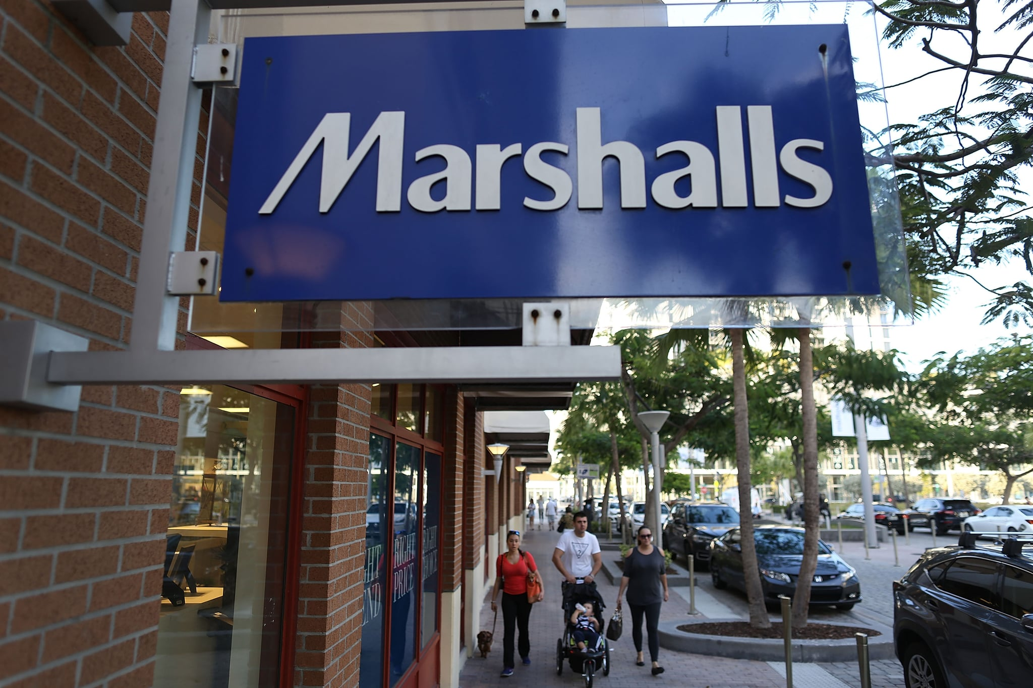 MIAMI, FL - FEBRUARY 08:  A Marshalls store is seen on February 8, 2017 in Miami, Florida.  Marshalls and T.J. Maxx stores have reportedly been told by the retailers' parent company, The TJX Campanies, that they should not feature Ivanka Trump's merchandise and to discard signs advertising those products.  (Photo by Joe Raedle/Getty Images)