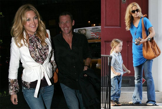 Photos of Lance Armstrong and Kate Hudson in NYC