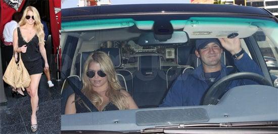Photos of Jessica Simpson and Tony Romo Back Together Before Ashlee Simpson's Wedding