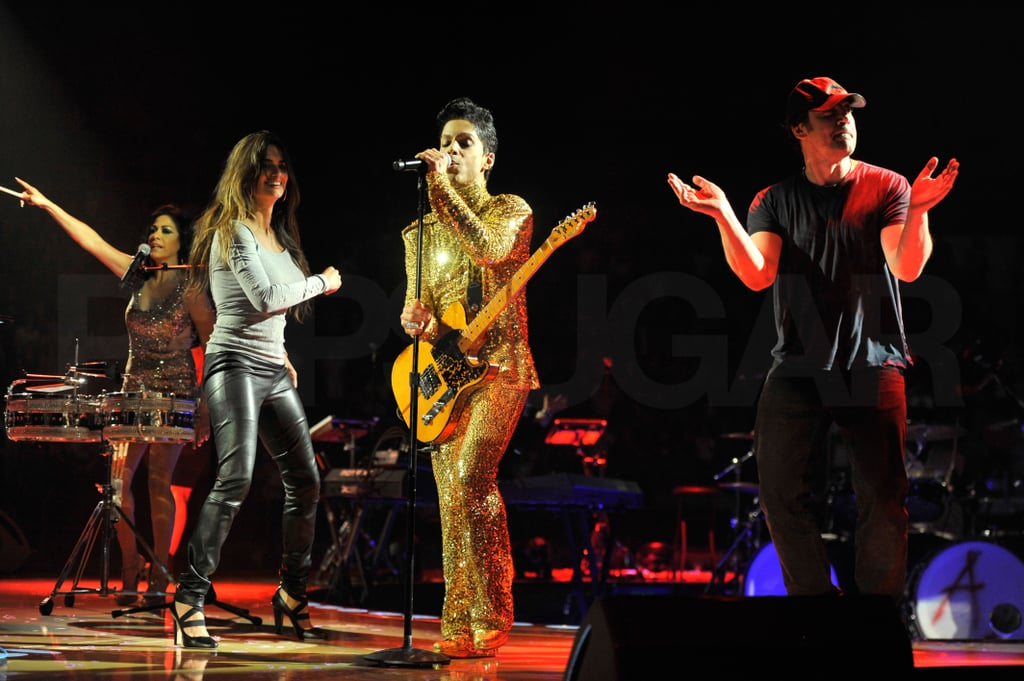 Hot Mom Penelope Breaks Out Her Leather Pants For a Prince Show With Javier!