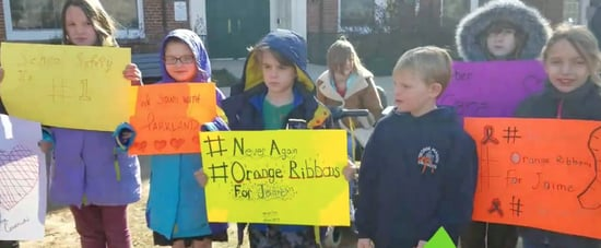 2 Fifth Graders Organized an Elementary School's Walkout,and What They Did Will Give You Chills