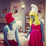 Smurfs fans have something to look forward to on The Big Bang Theory. Source: Instagram user cbsphoto