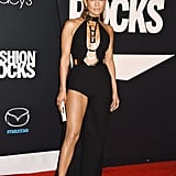 On the Red Carpet For Fashion Rocks in New York City in September 2014