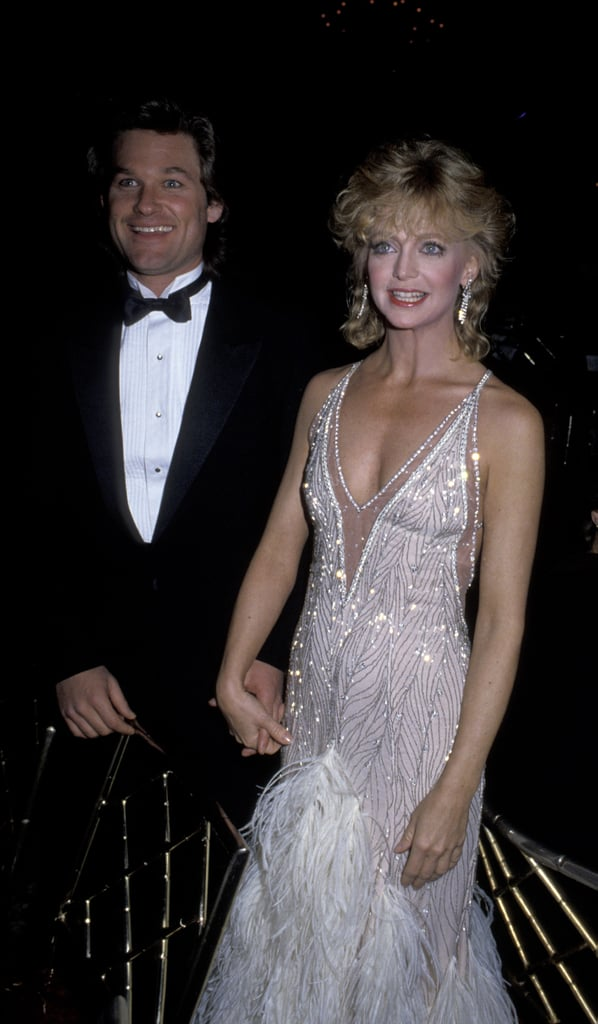 Kurt Russell and Goldie Hawn in 1985