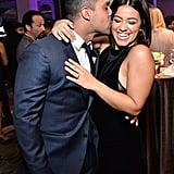 Wilmer Valderrama and Gina Rodriguez