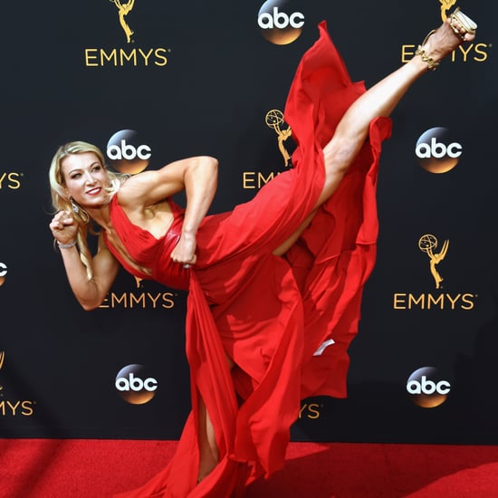 American Ninja Warrior Jessie Graff at the 2016 Emmys