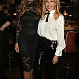 Kylie Minogue and Elizabeth Hurley