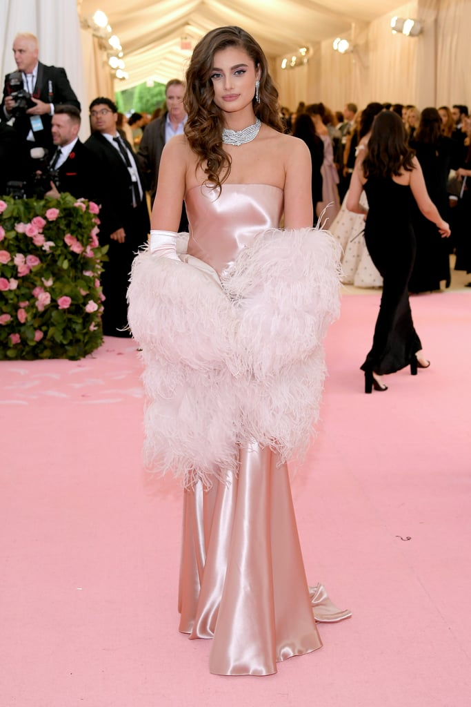 Taylor Hill at the 2019 Met Gala