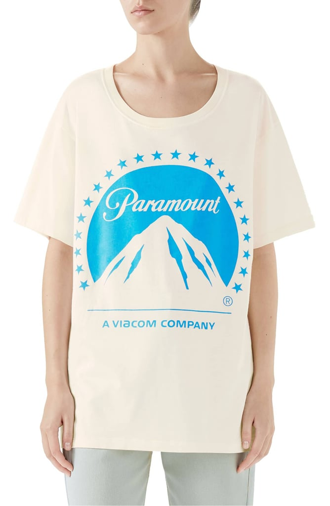 2873a18c Gucci Paramount Print Tee | Cool Graphic T-Shirts | POPSUGAR Fashion ...