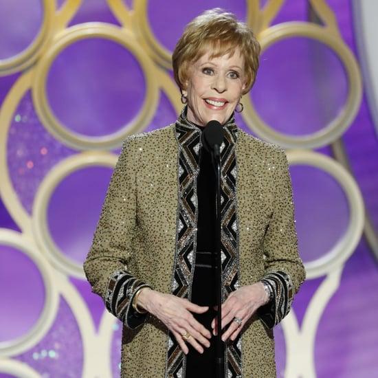 Carol Burnett Speech at the 2019 Golden Globes Video
