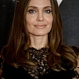 Angelina Jolie at the Maleficent: Mistress of Evil London Photocall