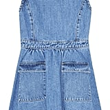 Steve J & Yoni P Flared Denim Mini Dress  ($425)