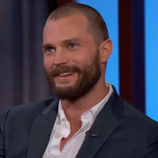 Jamie Dornan Talking About Fabio With Jimmy Kimmel 2017