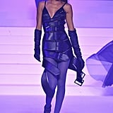 Joan Smalls on the Jean-Paul Gaultier Runway