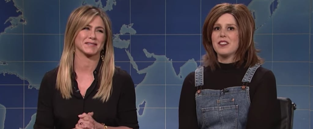 Jennifer Aniston Drops by SNL and Reminds Us Why We Love Rachel Green