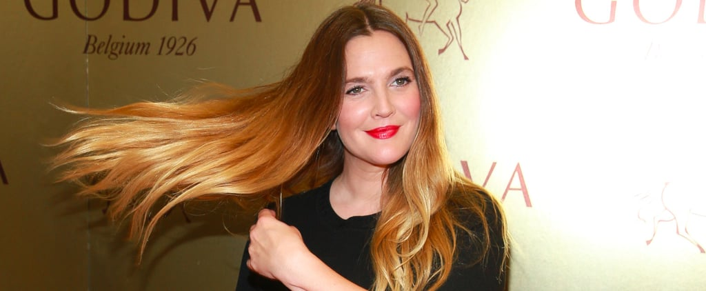 Drew Barrymore Gives a Red Carpet Hair Flip That Screams Carefree, Badass Single Babe