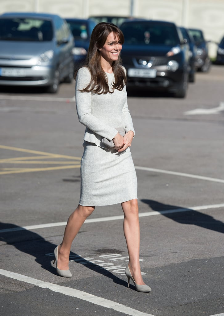 Kate Middleton's Bringing Peplum Back — and We Actually Like It