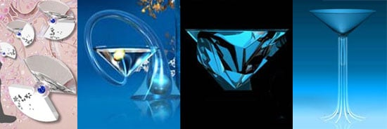 Discover the 2008 Bombay Sapphire's Designer Glass Competition Finalists