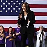 Kamala Harris at a Campaign Event