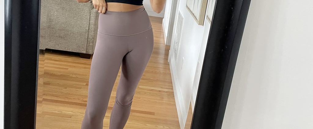 High-Waisted Workout Leggings From Old Navy | Editor Review