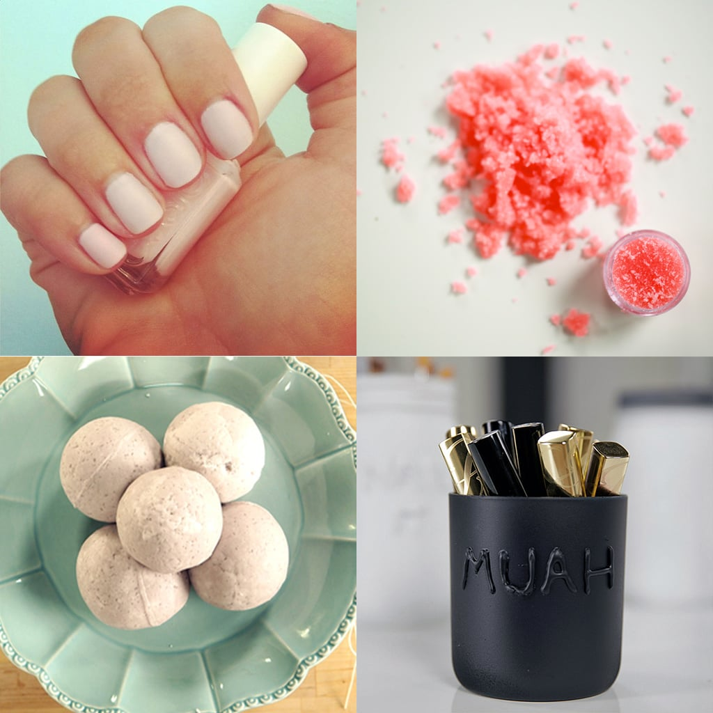 best pinterest beauty diys video popsugar beauty