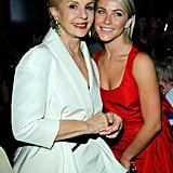 Julianne Hough got together with designer Carolina Herrera in Beverly Hills.