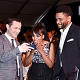 Pictured: Joseph Gordon-Levitt, Kerry Washington, and Nnamdi Asomugha