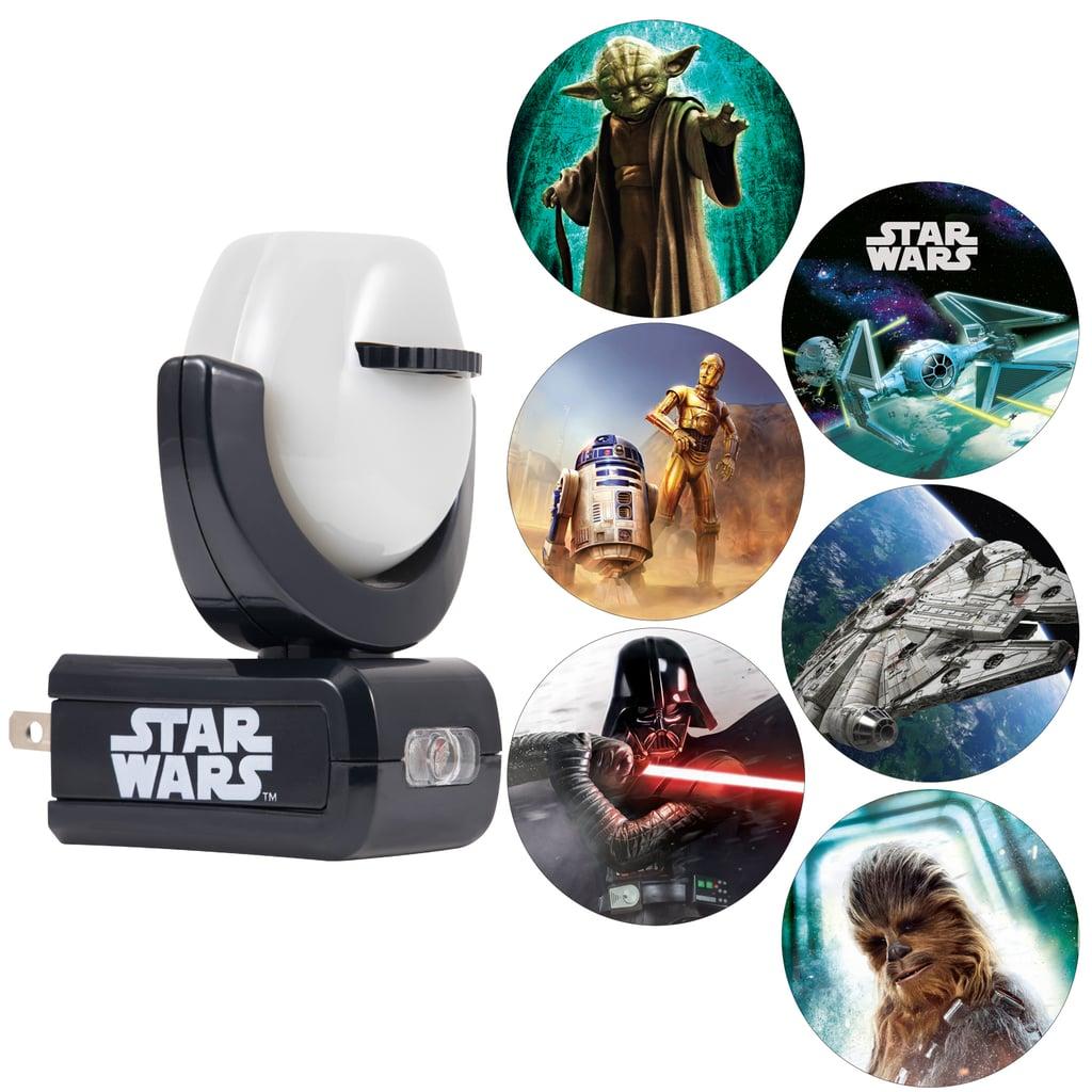 Projectables Star Wars 6 Image Night Light Top Disney