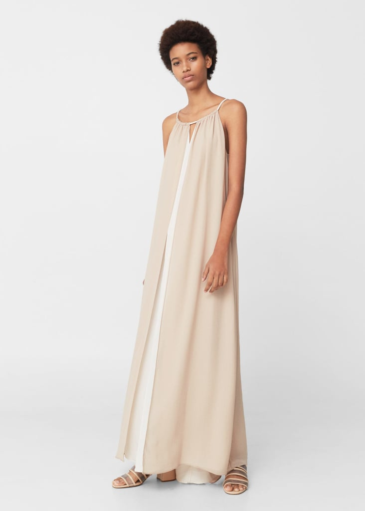 Opt for Mango's Double Layer Gown ($150) and rework it as a poolside cover-up later.