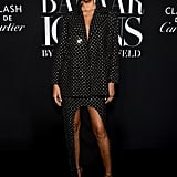 Lais Ribeiro at the Harper's Bazaar ICONS Party During New York Fashion Week