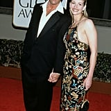 Julia's gorgeous sequinned gown featured intricate embellishments from head to toe at the 1998 Golden Globe Awards.