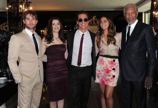 Pictures of Chace Crawford, Rachel Weisz, Matthew McConaughey, Camila Alves, Peaches Geldof, Duffy at D&G Menswear in Milan 2010-06-21 07:00:00