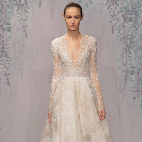 Lace Wedding Dresses From Bridal Fashion Week Winter 2016