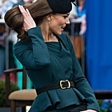 Kate Fixing Her Hair 2012