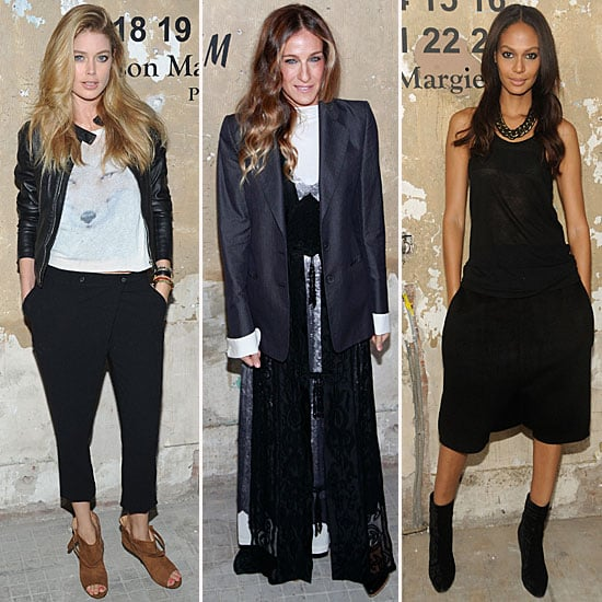 See Celebrities at the Maison Martin Margiela for H&M Launch