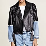 Natasah Zinko Leather Denim Jacket