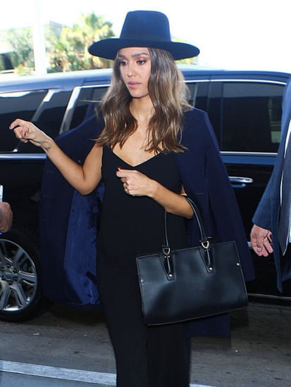 The Number One Item Jessica Alba Wears to Look Chic At the Airport
