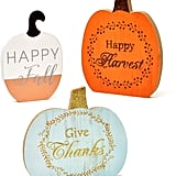 Autumn Pumpkin Centrepieces