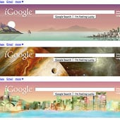 iGoogle, Google Chrome and Gmail Themes From Google