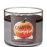 Campfire Pumpkin 3-Wick Candle