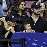 Serena Williams and Daughter Alexis at the 2018 Fed Cup
