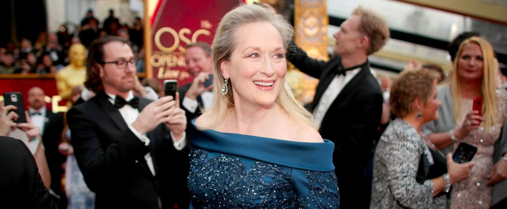 Meryl Streep Made Everyone Wait to See Her Fabulous Oscars Dress