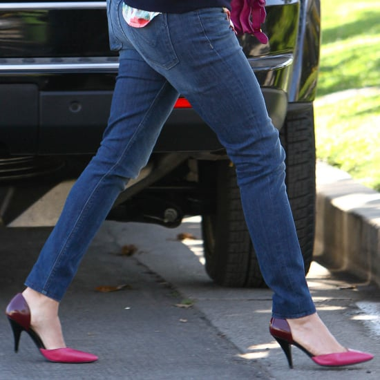 Reese Witherspoon Wearing Colorblocked Pumps | Shopping