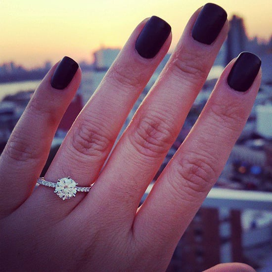 Real Girl Engagement Rings From Instagram