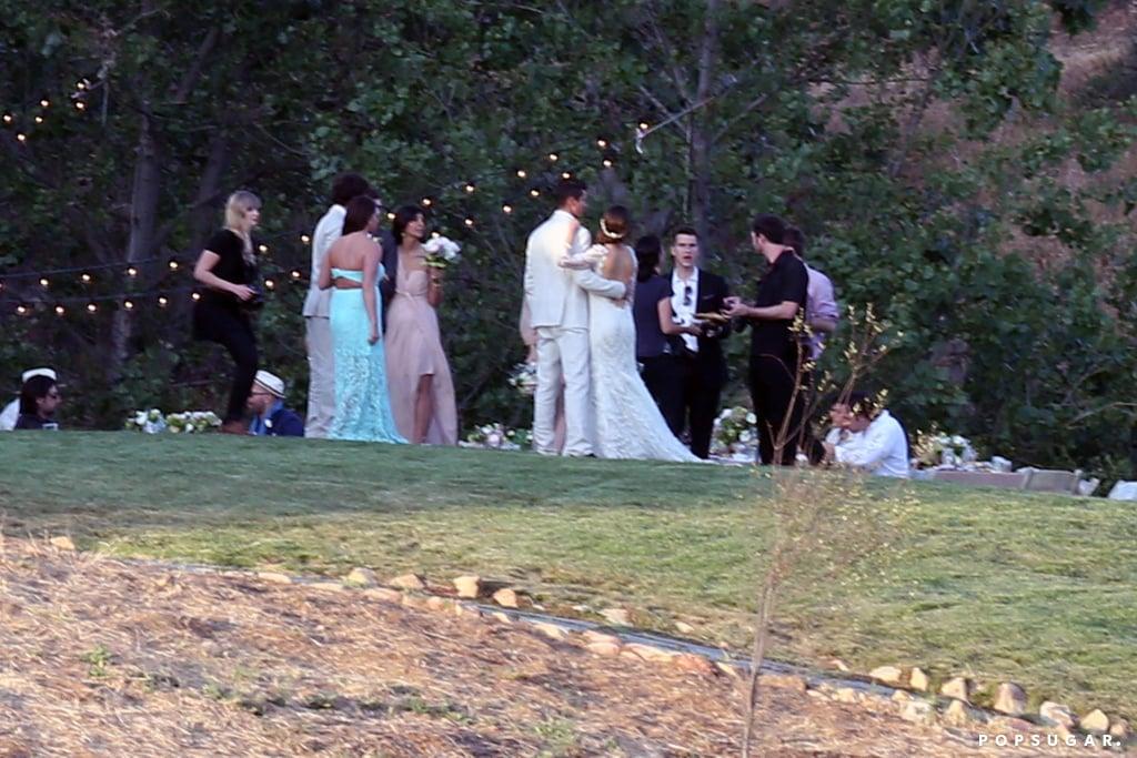 Ian somerhalder and nikki reeds wedding pictures popsugar relive ian somerhalder and nikki reeds breathtaking wedding junglespirit Images