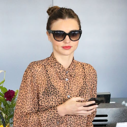 Miranda Kerr, Orlando Bloom, and Flynn at the Airport | Pics