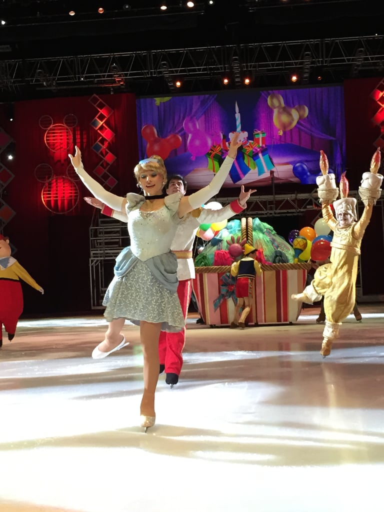 Watch a Disney on Ice performance.